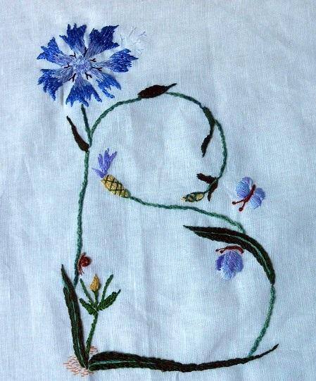 b comme broderie b comme bleuet b comme bonheur artisanne textile. Black Bedroom Furniture Sets. Home Design Ideas