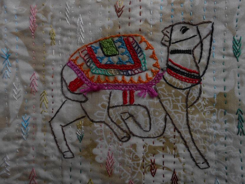 chameau indien