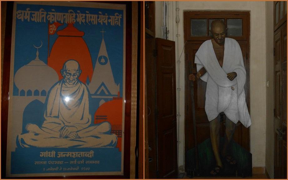 montage Gandhi