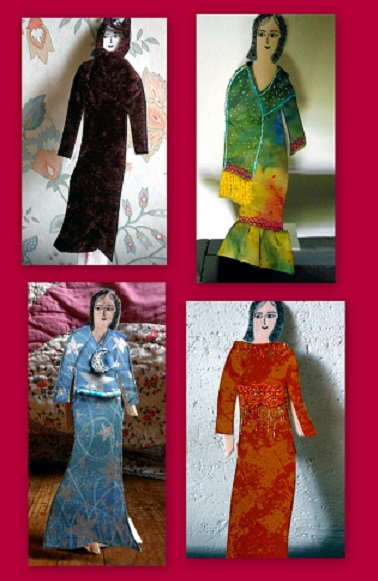 montage paper doll