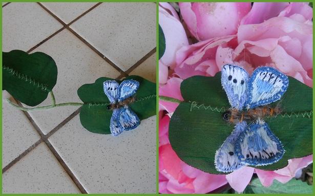 montage papillon