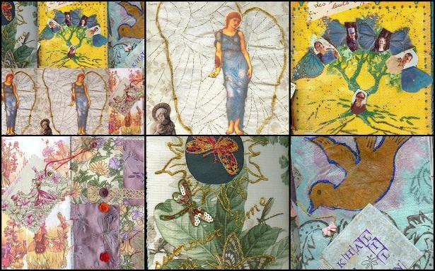 mosaiailes1 Larbre sétoffe (la robe mémorielle 5)